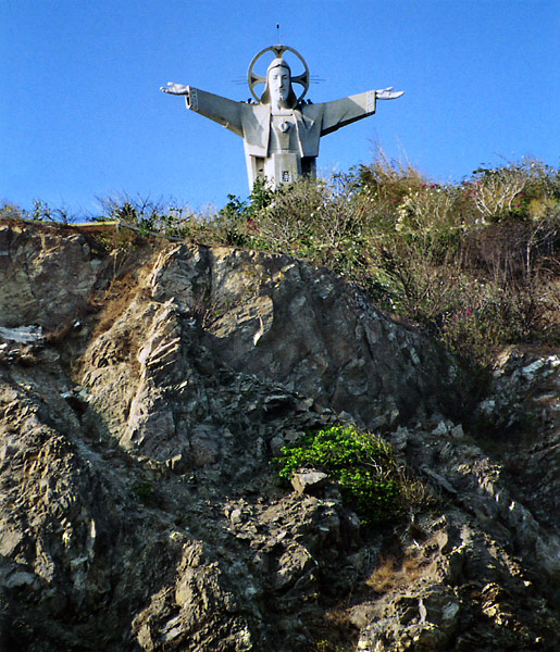 Jesus Christ Statue - photo by George Fikus.