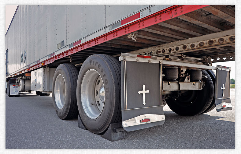 Semi Truck Mud Flaps >> Mud Flap Cross Huntsville Alabama