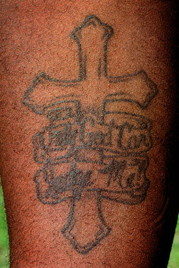Cross Tattoos Only God Can Judge Me