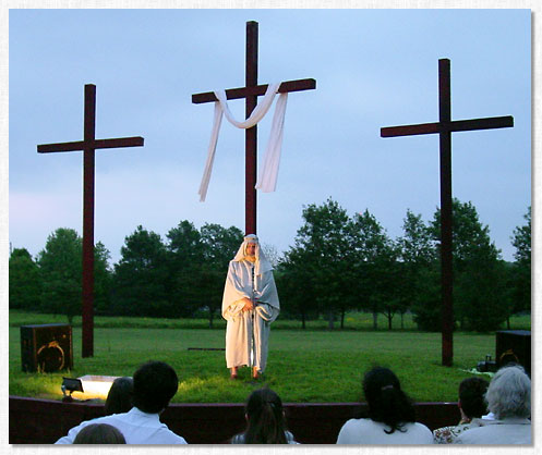 2003 Easter Sunrise Service.
